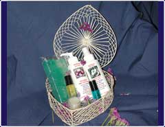 Bath and Body Products: Medium Gift Baskets